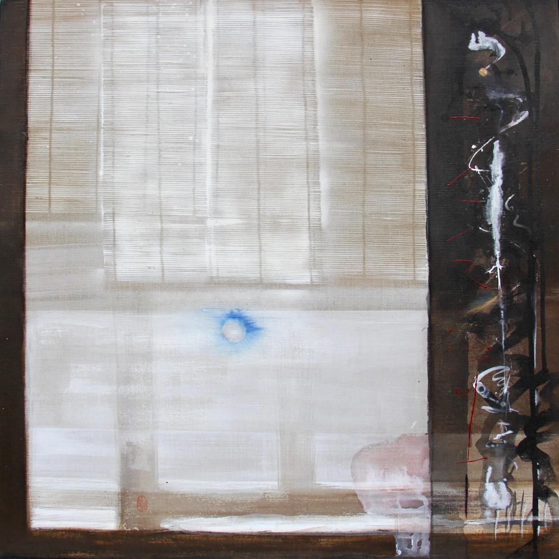 Interieur/extérieur#4 80x80 cm